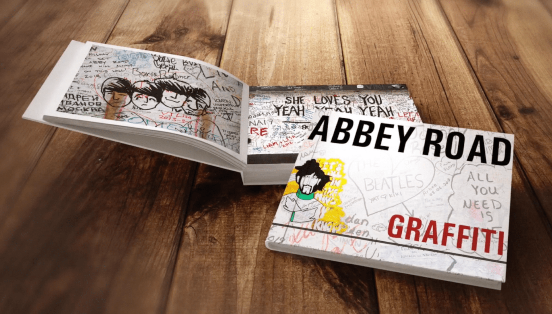 Abbey Road Graffiti Book