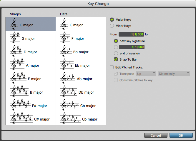 Music Theory for Audio Engineers Key Change