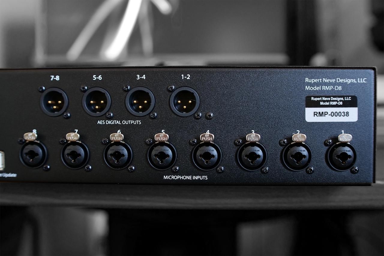 Neve RMP D8 BackDetail2