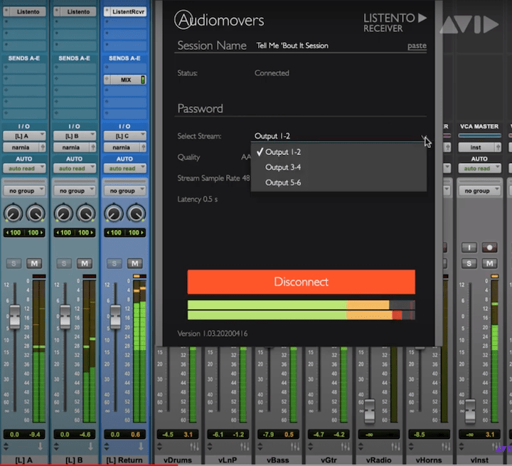 How To Live Stream Your Mix In Pro Tools- Listento & Source-Live