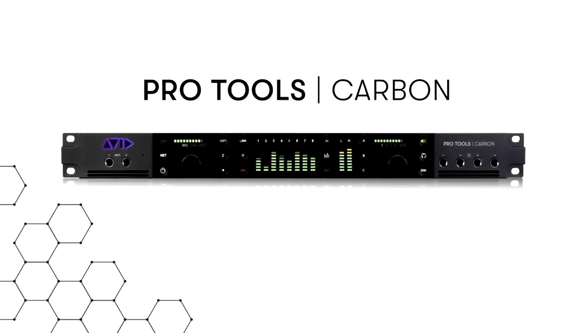 New Pro Tools CARBON Hybrid Production System