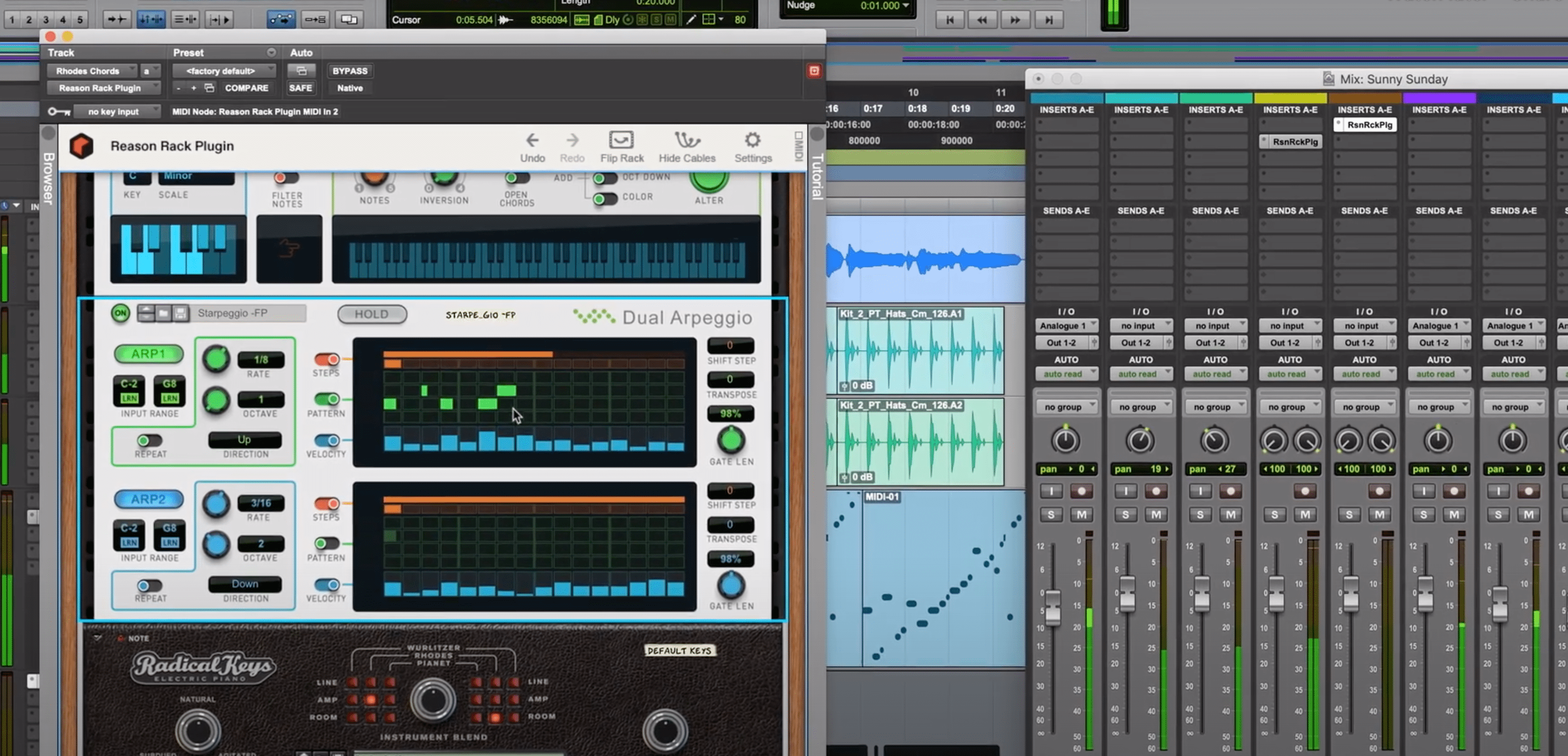 Reason Rack Plugin for Pro Tools