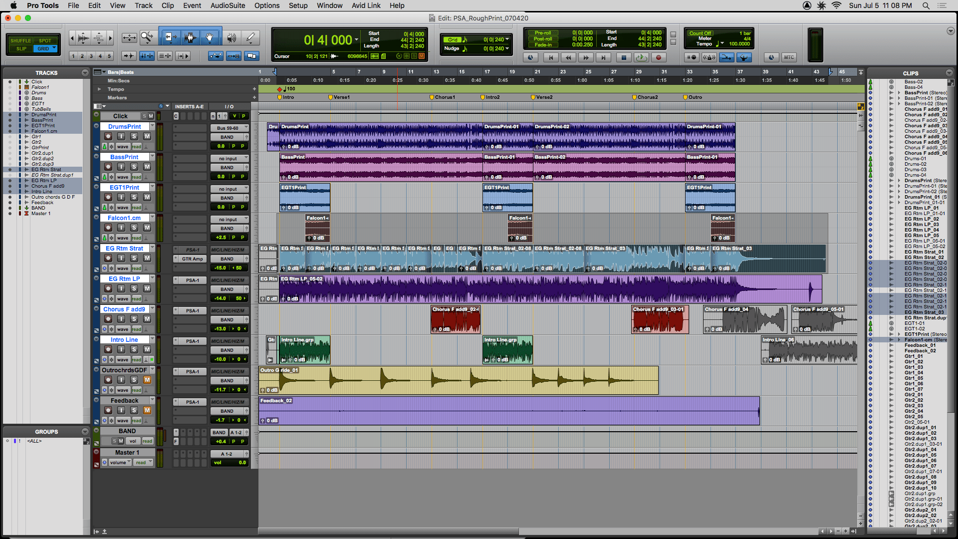 How To Use Track Bounce In Pro Tools