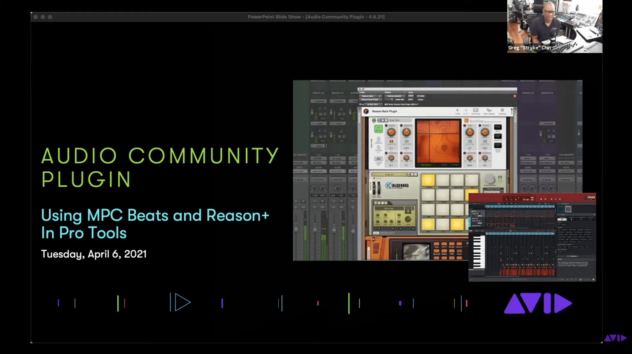 Using MPC Beats and Reason+ in Pro Tools