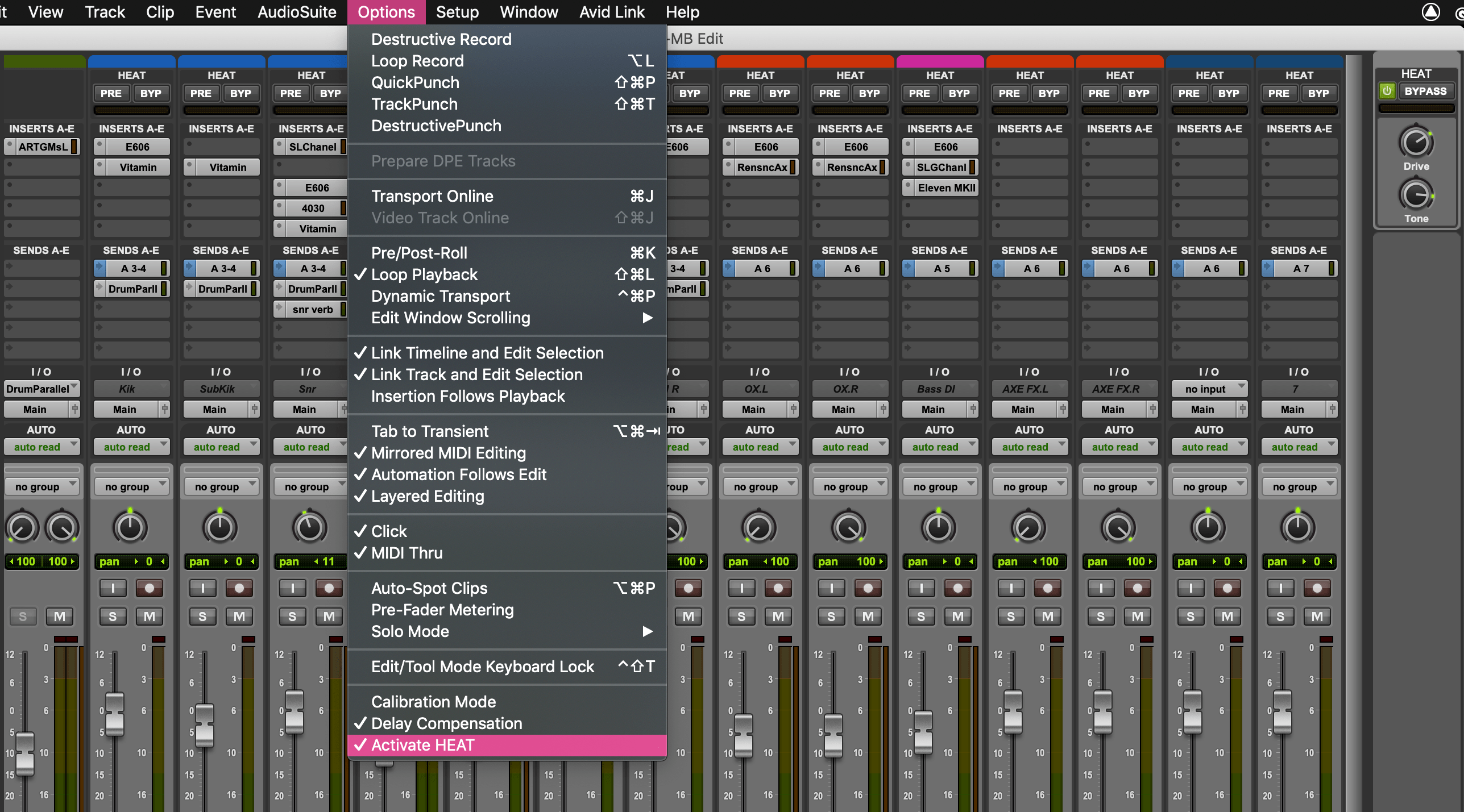 HEAT Available for Pro Tools 2019.6