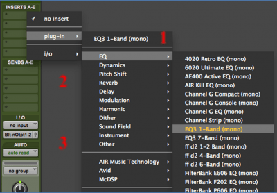 Pro Tools Plug-In Management