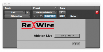 How To ReWire To Pro Tools
