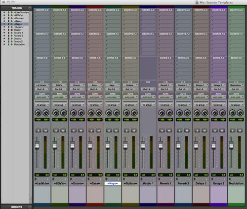The Importance Of Session Templates Promedia Pro Tools Training