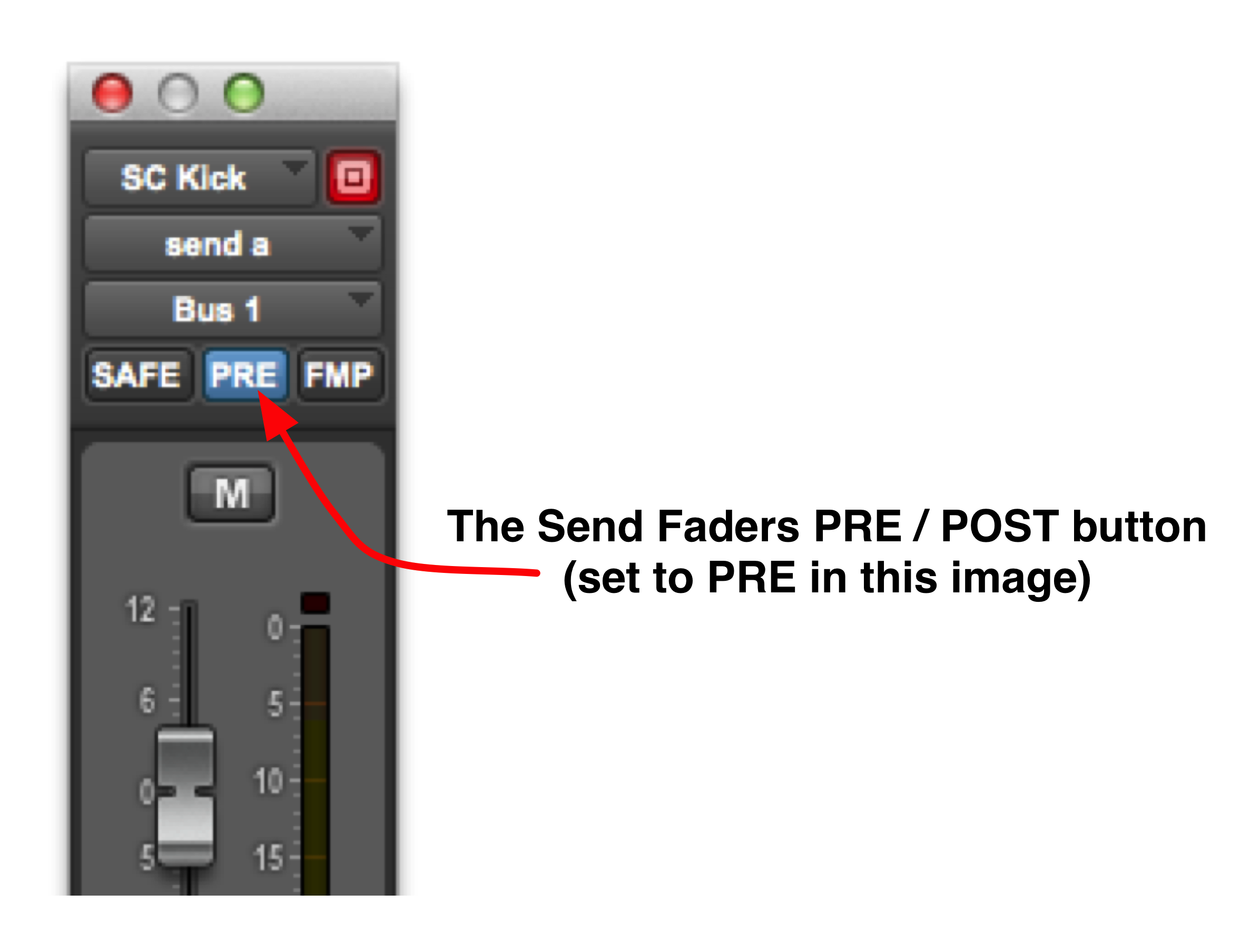 Using sidechain routing in pro tools help techniques promedia sends is derived before the fader level and turn the side chain tracks fader down to zero you can use the send fader to alter the input level to the xflitez Gallery