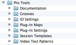 Pro Tools 11 Application Folder