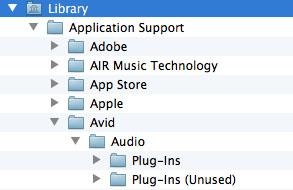 Pro Tools 11 Library Folder